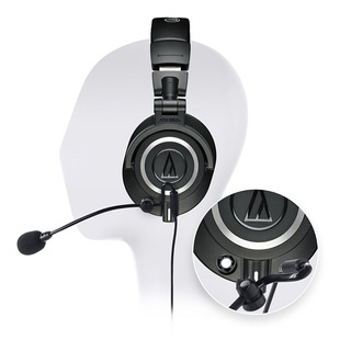 Auriculares Audio Technica Ath M50x Profesional Con Micrófon