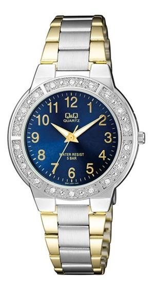 Relógio Q&q By Japan Feminino Q901j405y C/ Garantia E Nf
