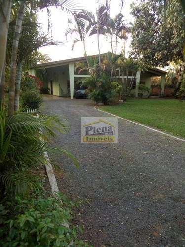 Imagem 1 de 28 de Chácara Com 3 Dormitórios À Venda, 1066 M² Por R$ 590.000,00 - Chácara Cruzeiro Do Sul - Sumaré/sp - Ch0129