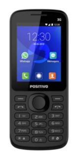 Celular Para Idoso Com Botão Whatsapp P70 Preto Positivo