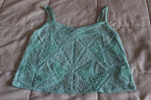 Top Verde Agua Forever 21