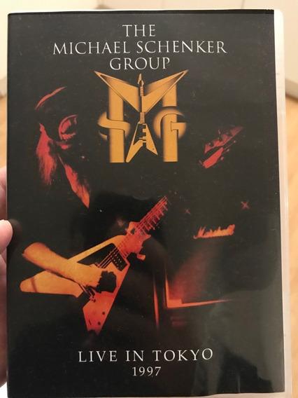 Michael Schenker Live In Tokyo 1997 Dvd Seminovo Frete 8,50