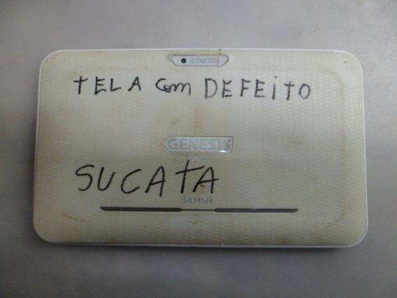 Tablet Genesis Gt7240 Branco Sucata S/garantia