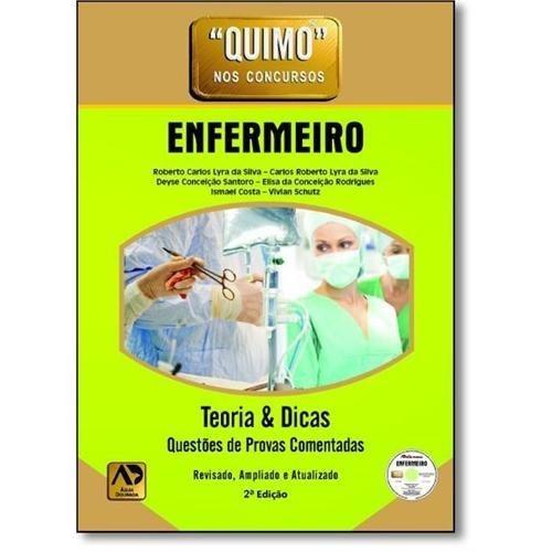 Livro Quimo - Enfermeiro - 2ª Edição - Dvd-rom