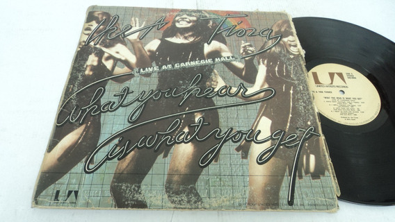 Ike Y Tina Turner - What You Hear Is What You Get Lp