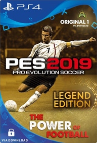 Pro Evolution Soccer 2019 Pes 19 Ps4 Psn Digital Code 1 Já!!
