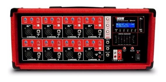 Mesa / Cabeçote Amplificado Novik Bt 8500 Neo
