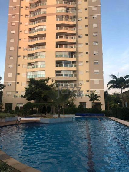 Magnífico Apartamento Com 3 Dormitórios À Venda, 133 M² Por R$ 1.170.000 - Parque Prado - Campinas/sp - Ap2134
