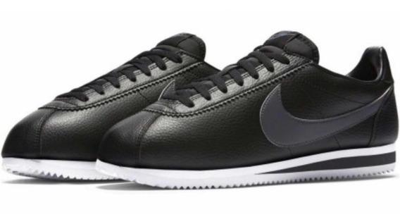 Tenis Nike Cortez // Piel Vacuna // #25 Al 30 Mx Con Caja