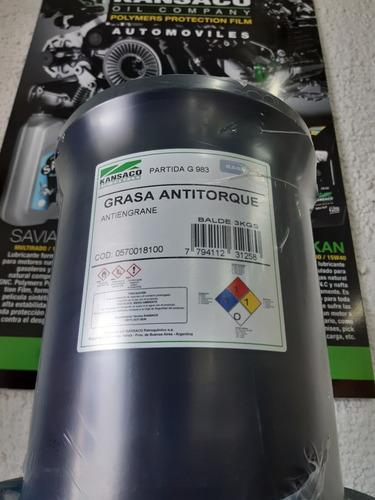Grasa Antitorque Antiengrane Cobreada Balde X 3kg Kansaco