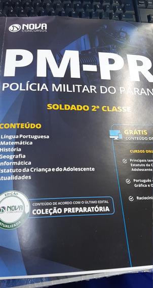 Pm-pr Policia Militar Do Parana Nova Concursos