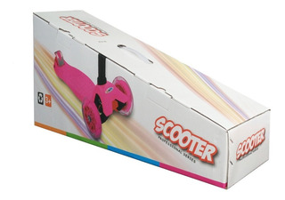 Scooter Patin Diablo Niño Niña Ajustable 3 Ruedas Luces Led