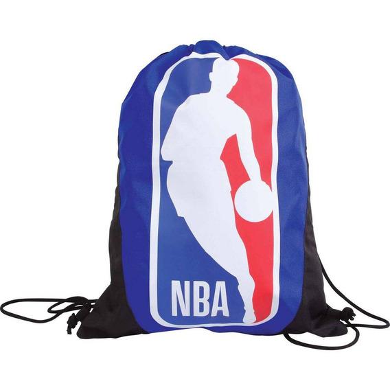 Bolsa Saco Com Alças Da Nba Gymbag Azul 49197 Dmw