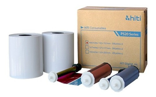 Papel P520l/p525l 10x15 500 Prints Papel+ribbon