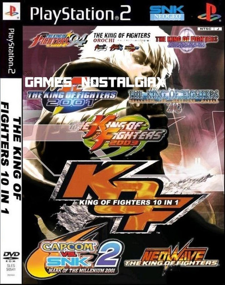 The King Of Fighters 10 Em 1 ( Luta ) Ps2 Desbloqueado Patch