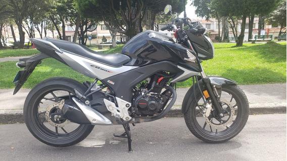 Honda Cb 160f Dlx Negra 2020