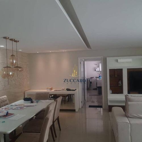 Apartamento À Venda, 197 M² Por R$ 1.599.000,00 - Jardim Santa Mena - Guarulhos/sp - Ap16022