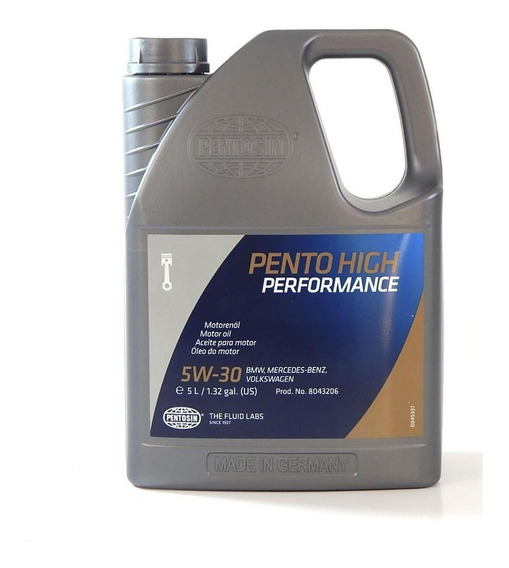 Aceite De Motor 100% Sintetico Pentosin 5w-30 5 Lt 8043206