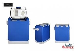 Cooler Térmico 12v Car Sumax 24 Litros Azul - Mini Geladeira