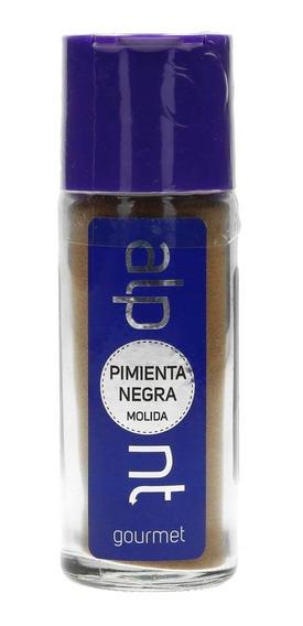 Pimienta Negra Molida Especias Alpont Gourmet 54 Gramos