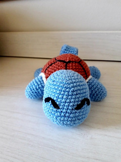 Boneco Pokemon Squertle Em Amigurumi - Geek Decoração