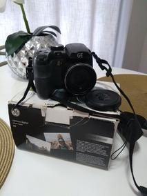 Câmera Semi Profissional Ge X500 - Usada, Em Ótimo Estado