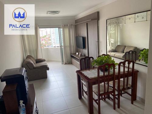 Lindo Apartamento De 02 Quartos Na Vila Monteiro Por R$ 290.000 - Ap0786