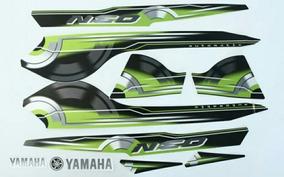 Adesivo Neo Yamaha 115 Ano 2010 Cor Preta