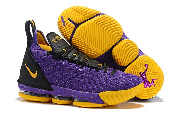 Tênis Nike Lebron 16 Lakers Original