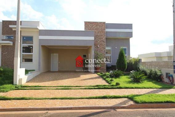 Casa Com 3 Dormitórios À Venda, 180 M² Por R$ 830.000,00 - Parque Brasil 500 - Paulínia/sp - Ca0563