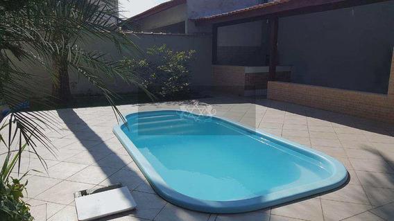 Casa Com 4 Qtos, Pontal De Santa Marina, Caraguatatuba 640 Mil - V326