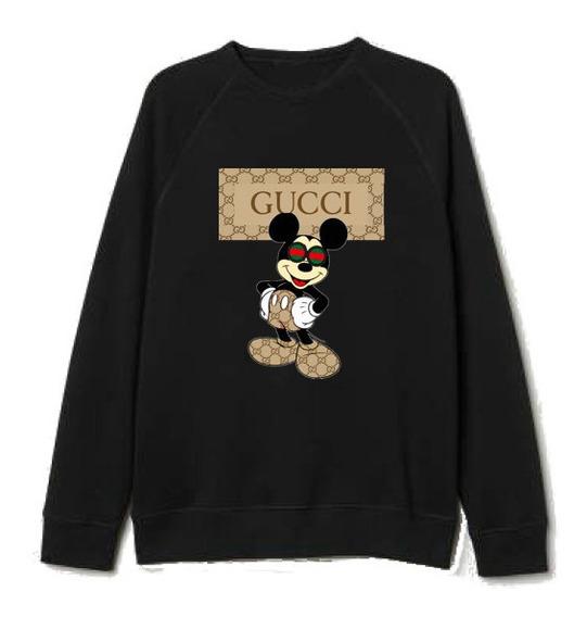 Sudadera Gucci Mickey Sin Capucha
