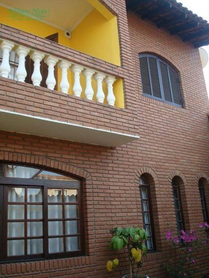 Sobrado Residencial À Venda, Parque Continental I, Guarulhos. - So0386