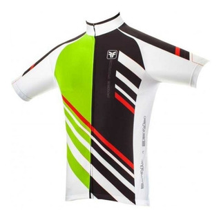 Camisa Ciclismo Freeforce Stripes Verde