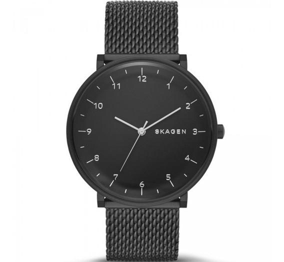 Relógio Skagen Masculino Ref: Skw6171/z Slim Black