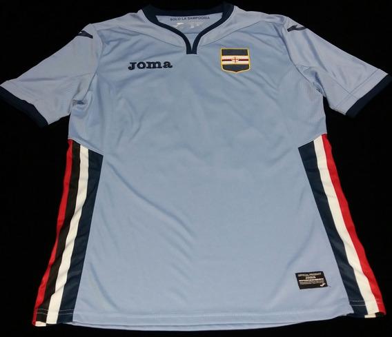 Camisa Sampdoria 3rd 2017 #27 Quagliarella Tam. P Original