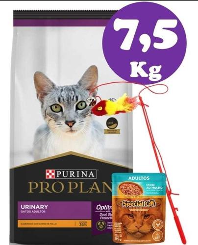 Imagen 1 de 3 de Pro Plan Urinary 7,5kg +4kg De Sanitario+envios Gratis