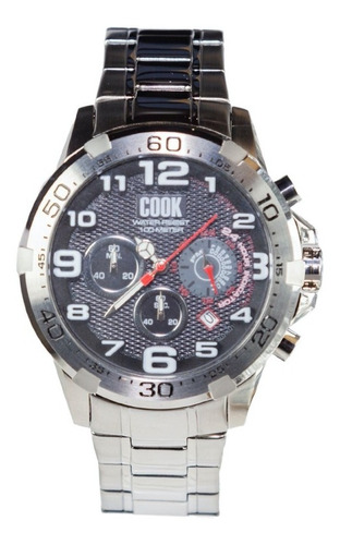 Reloj Hombre John L. Cook Velvet Chrono Acero 5684