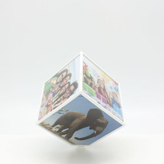Cubo Giratorio Fotos Decoración Morph