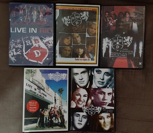 Kit Box Dvds Rbd Originais E Fan Made - Impecáveis!