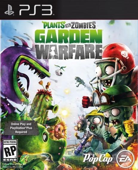Jogo Plants Vs Zombies Garden Warfare Ps3 Portugues Brasil