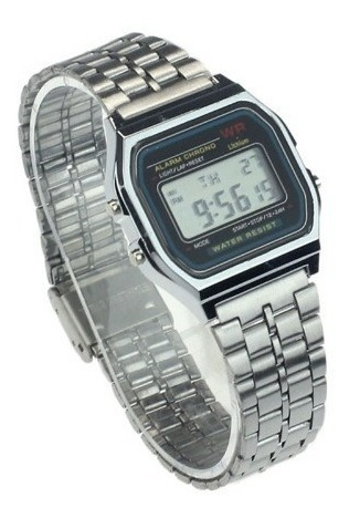 Relógio Digital Unissex Retro Vintage Alarme Promoção