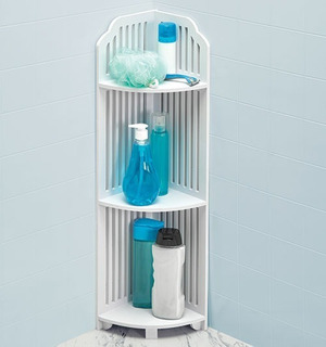 Esquinero Resistente Al Agua Para Baño 3 Niveles