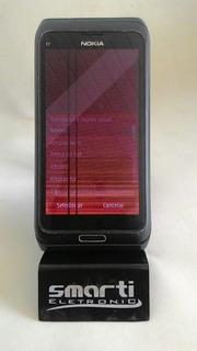 Celular Nokia E7 S.o Symbian3 16gb Com A Tela Quebrada Retirada De Peças Frete Gratis