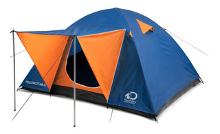 Carpa Yellowstone Iv 4 Pers. Doble Capa Discovery Adventures