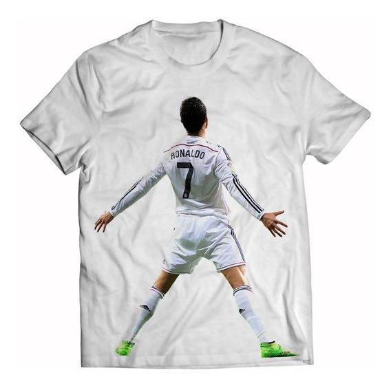 Playera Niño Cristiano Ronaldo Real Madrid