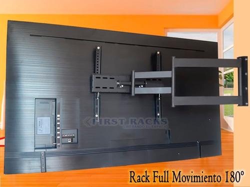 Rack Tv Soporte 42 A 65 Reforzado Plegable/ Instalado Racks