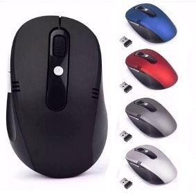 Mouse Wireless Sem Fio - Op. 400a 1600cpi Usb - Notebook/pc
