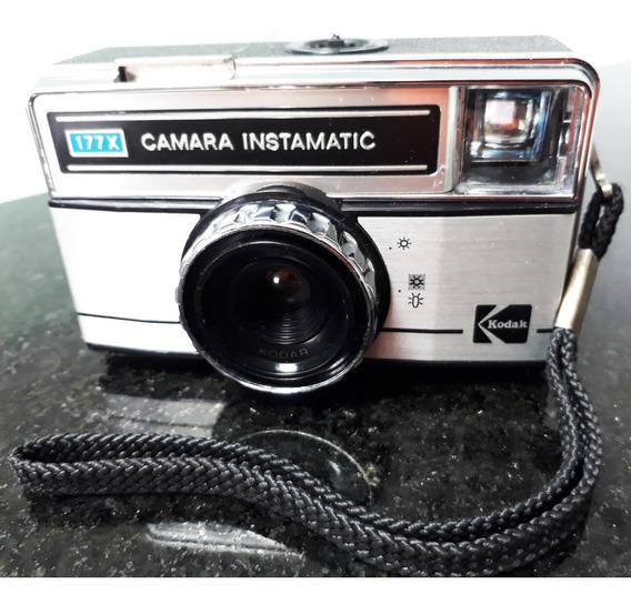 Câmera Kodak Instamatic 177x ( Excelente) * Usa-se Filme 126