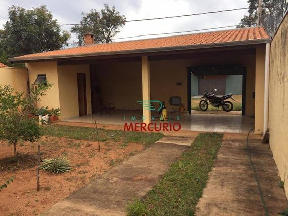 Chácara Com 2 Dormitórios À Venda, 250 M² Por R$ 110.000 - Vale Do Igapó - Bauru/sp - Ch0139